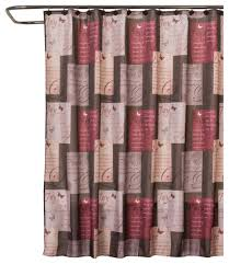 Brown And Gold Shower Curtains Saturday Joyful Shower Curtain Curtain Gallery Images