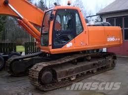 daewoo sl 290 lc v crawler excavators year of manufacture 1998