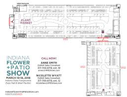 floor plan exhibitor rates u0026 contract for the indiana flower