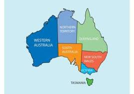 austrial map australia map free vector 3071 free downloads