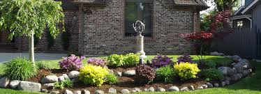Landscape Curb Appeal - garden design garden design with front yard curb appeal ideas
