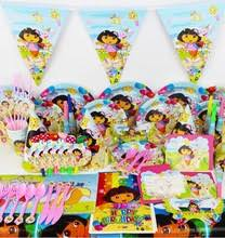 Birthday Decorations For Girls Popular Dora Birthday Decorations Buy Cheap Dora Birthday