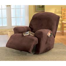Sure Fit Reviews Slipcovers Sure Fit Stretch Pique Wing Chair Recliner Slipcover Hayneedle