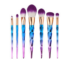 unique twist makeup brush set contour eyeshadow powder brush
