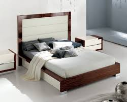 Inspiring White Leather Bedroom Furniture White Leather Bedroom - Modern white leather bedroom set