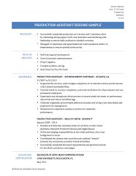 communications resume sample production assistant resume tips template onlineresumebuilder production assistant resume template