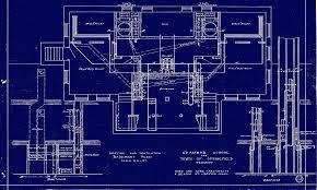 north blueprint of basement