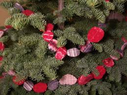 felted garland for your tree