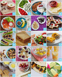 20 and healthy snacks you and your will