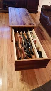 concealed gun coffee table knock offs pinterest guns coffee