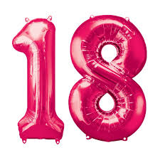number balloons delivered pink two digit number balloons 10 99 delivered inflated in uk
