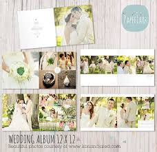 wedding album templates wedding album template 12 x 12 photoshop by paperlarkdesigns