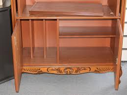 Chippendale Esszimmer Gebraucht Fernsehschrank Tv Schrank Kirsche Chippendale Echtholzfurnier