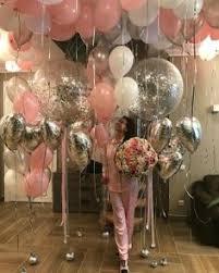 bae flowers and balloon at pɪитєяєsт ʗιɴɗɛяɞɛʟʟα spoiled rotten birthdays