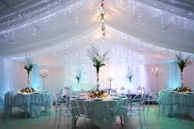 there are plenty of pretty tent ideas if we have it outdoors on