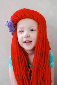 Mermaid Costumes Child Little Mermaid Costumes 37 Best Crochet Images On Pinterest Yarn Wig Little Mermaids