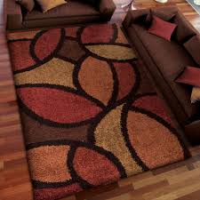 Brown And Beige Area Rug Home Dynamix Ariana 3 Piece Area Rug Set Ebony Red Walmart Com