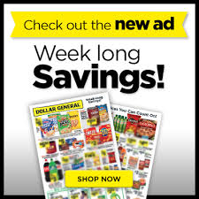see what is on sale this week at dollar general