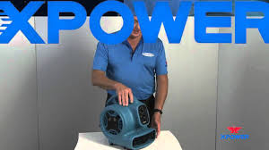 ramfan turbo ventilator xpower 1 4hp mini air mover p 230at australia youtube