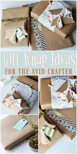 the life of jennifer dawn gift wrap ideas for the avid crafter