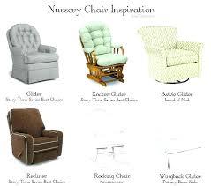 Recliner Rocking Chairs Nursery Rocking Gliders For Nursery Getestate Us