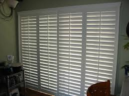 Bypass Shutters For Patio Doors Window Treatment Specialists Rk Window Fashions