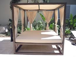 bedroom beautiful outdoor daybed with canopy by florida patio