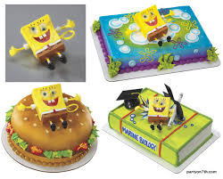 sponge bob cake spongebob ticklepants cake topper