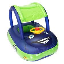 siege gonflable bébé siège bouée parasol voiture bateau piscine à 6 36mois 15kg bébé enfant
