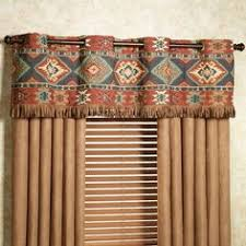 Southwestern Style Curtains Croscill Dakota Valance Bed Bath Beyond Bedding Choices