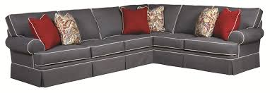 Klaussner Audrina Audrina Contemporary Piece Sectio Interest 3 Piece Sectional Sofa