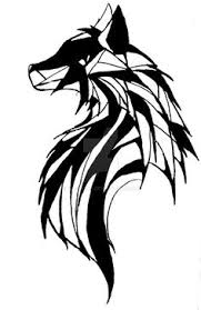 tribal fox wolf i ve wanted to get this done for a while
