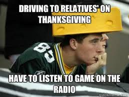 driving to relatives on thanksgiving to listen to on
