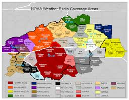 Map Of Asheville Nc Noaa Weather Radio Page