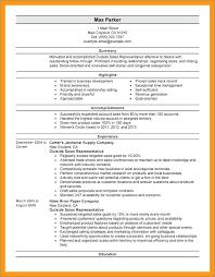 outside sales resume exles sales resume sle publicassets us