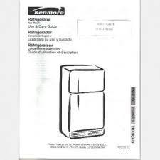 kenmore refrigerator model 253 63712300 parts list wiring diagram
