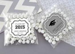 graduation party favors personalized graduation clear candy bags set of 24