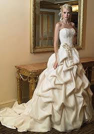 silky wedding dresses and fabric finishes