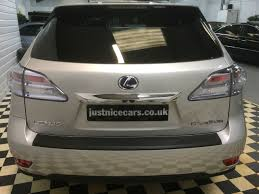 lexus suv for sale uk second hand lexus rx 450h 3 5 v6 se l premier 5dr cvt auto for