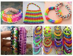 bracelet craft hand images 2015 new fshion children diy colourful creative rubber elastic jpg
