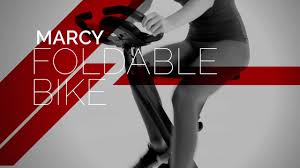 marcy foldable x bike in black ns 654 youtube