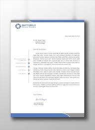 15 professional letterhead templates u2013 free sample example