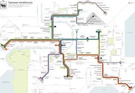 Metro North New Haven Line Map by Official Map Tram Network Of Chelyabinsk Russia By Ilya Birman