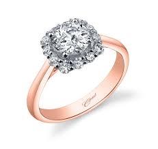 plain band engagement ring gold plain band halo engagement ring