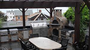 outdoor kitchens u0026 rooms landscape design scituate ma