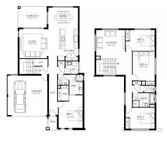 house plans for narrow lots with front garage ultra modern house floor plans storey layout plan small