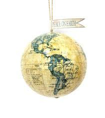 maker s frosted world globe ornament joann