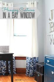 How To Hang Curtains On A Bay Window