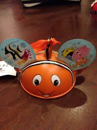 nemo ear hat ornament disney ornament from sort it apps