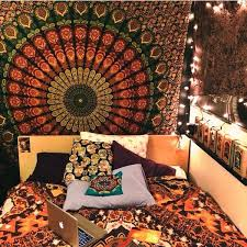 tapestry home decor tapestry home decor big blue mandala hippie tapestry hippie wall
